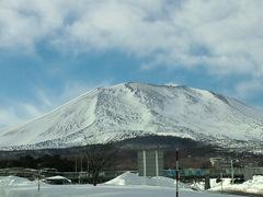 活火山に寄り添う