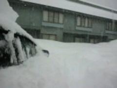 記録的大雪(@_@)